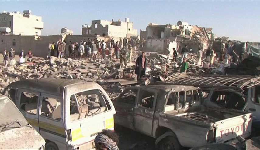 Photo of Twelve civilians killed, six injured in Saudi air strikes in Hajja