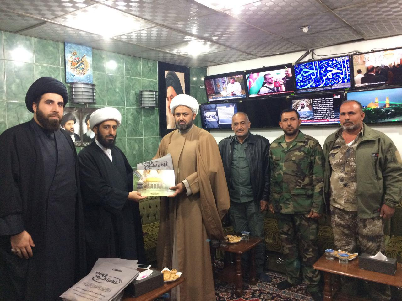 Photo of Imam Hussein TV Channels Group rewards Ansar Imam Hussein Brigade