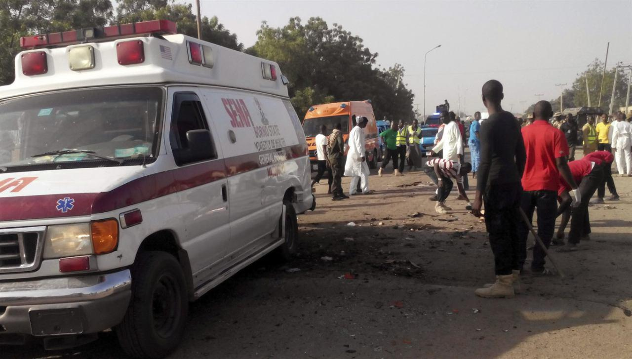 Photo of Two female suicide bombers kill at least 30 at Nigerian market