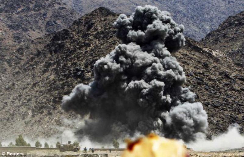 Photo of Afghan Air Force raid leaves 16 militants dead in Helmand