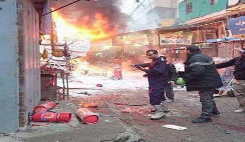 Photo of Iraq's Baghdad hit by two explosions, at least 21reported dead