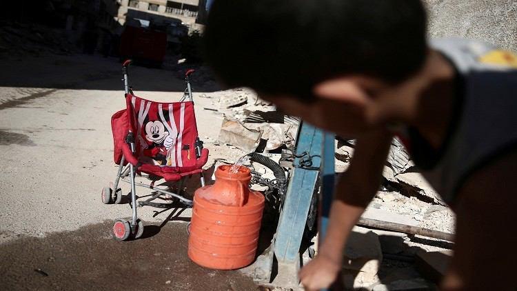 Photo of Water borne diseases threatening children in Damascus: UN