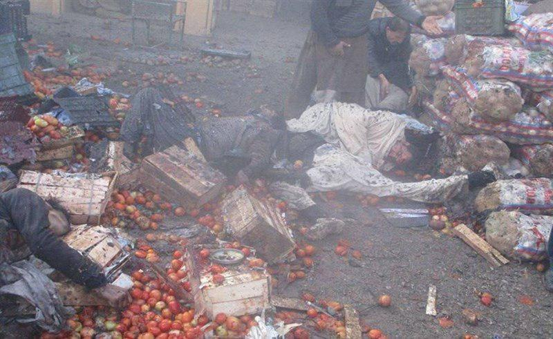 Photo of Bomb at vegetable market in Pakistan's Shia area kills at least 21