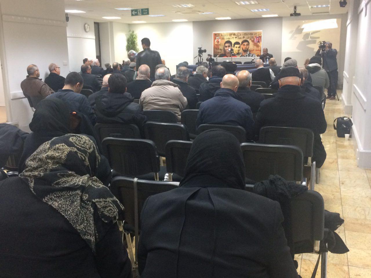 Photo of Memorials of Bahraini Martyrs in London, UK