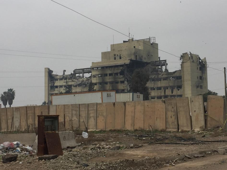 Photo of HRW: ISIS used Mosul hospital as military base