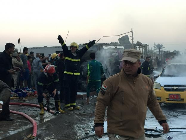 Photo of Suicide truck bomber kills at least 15 in Sadr City of Baghdad