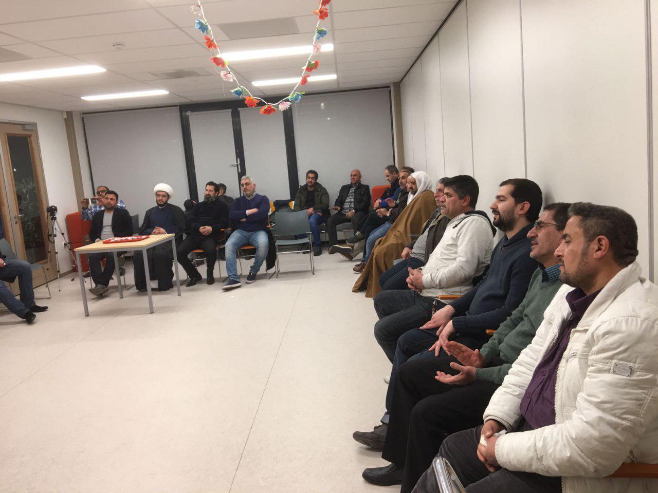 Photo of Ayatollah Shirazi representative visits Islamic centers in the Netherlands