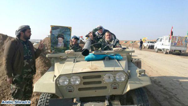 Photo of Ayatollah Shirazi public relations office continues logistic support to PMU