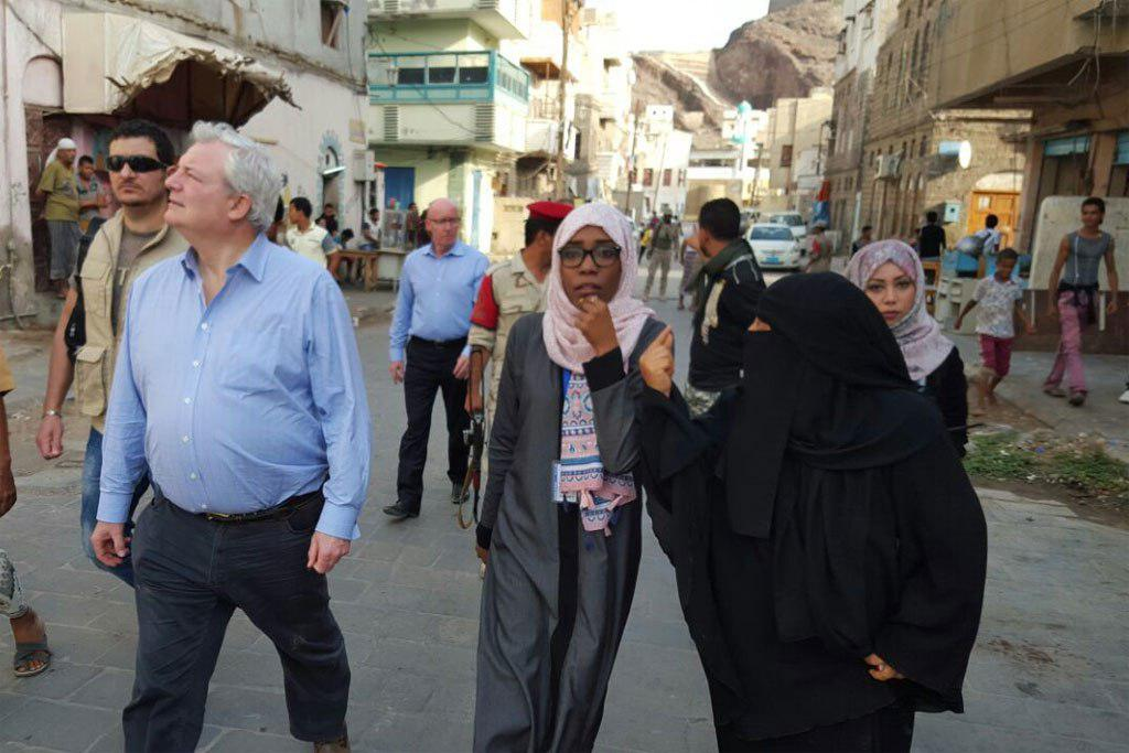 Photo of In Yemen, UN aid chief rallies support for relief efforts to prevent famine
