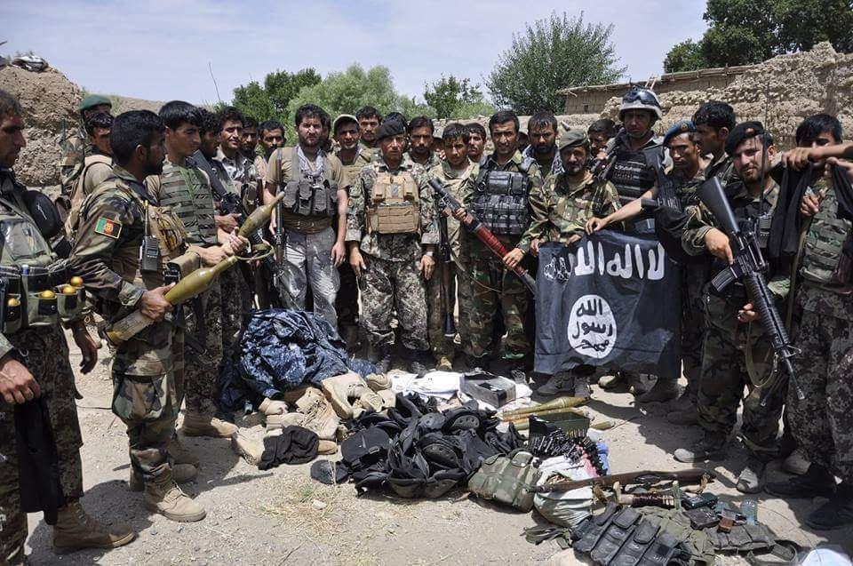 Photo of 23 ISIS militants killed in Zabul and Nangarhar provinces