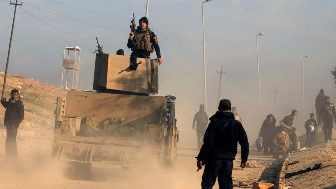 Photo of Mosul battle: Troops retake main government office
