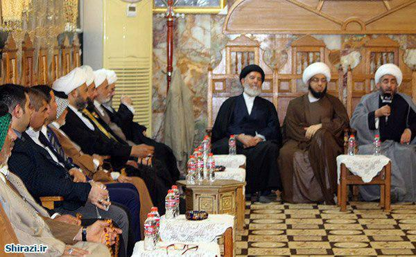 Photo of Delegates from Grand Ayatollah Shirazi Office meet members of Islamic Action Organization