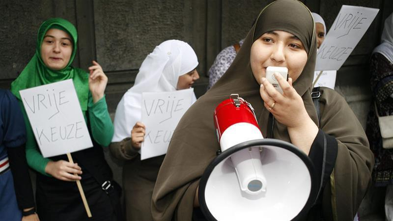 Photo of Muslims slam European Court Hijab ruling