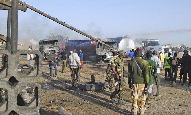 Photo of Boko Haram raid Nigeria town, loot food supplies