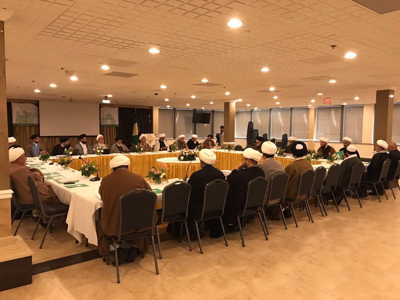 Photo of Ayatolllah Shirazi representative takes part in the 16th Shia Scholars Conference