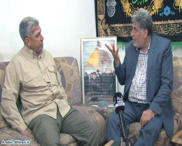 Photo of Deputy Commander of Ali Akbar Brigade meets Public Relations Office of Grand Jurist