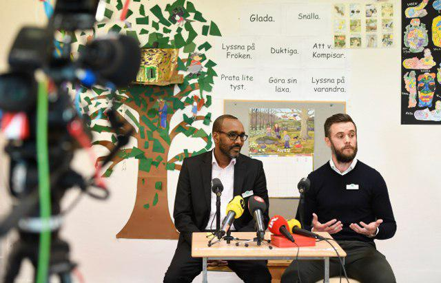 Photo of Hate group targets Swedish Muslim School