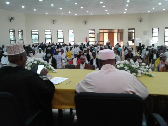 Photo of Graduation ceremony of seminary students in Tanzania
