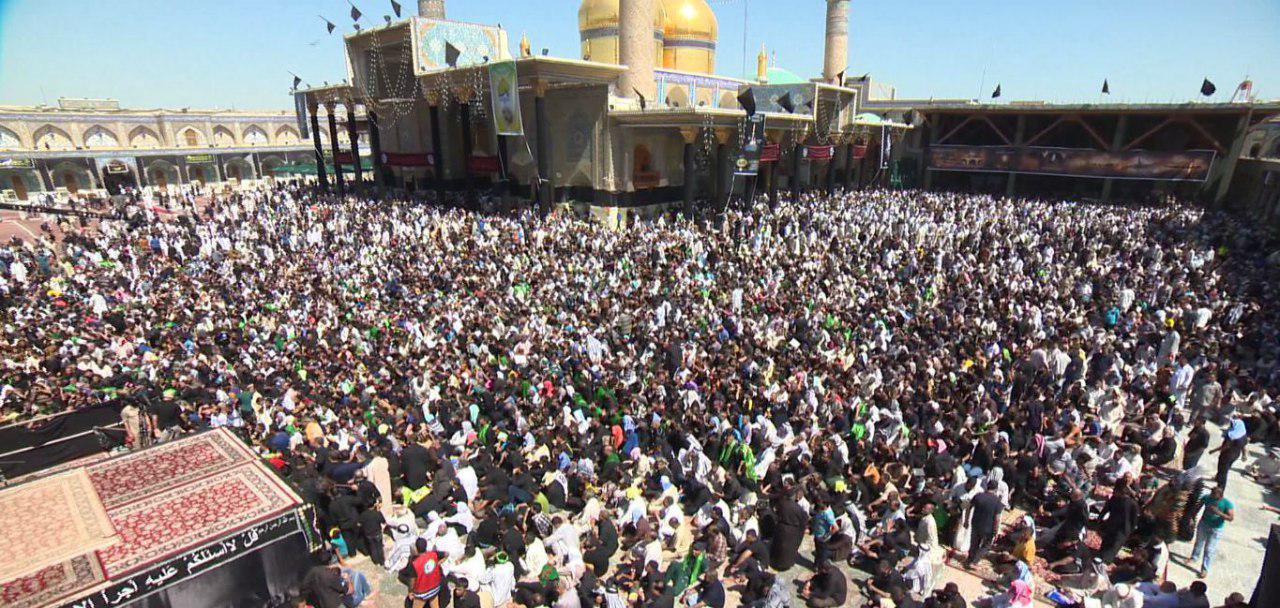 Photo of More than two million pilgrims in Kadhumiyaand security forces foil suicide bomb attack