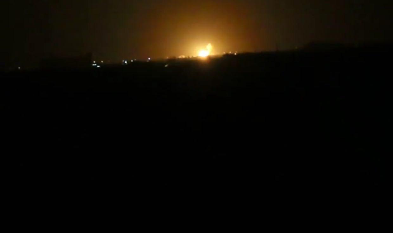 Photo of Large blast hits Damascus International Airport