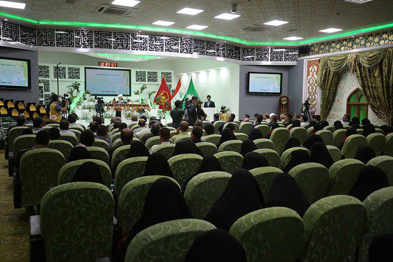 Photo of High-achieving female students awarded in Karbala