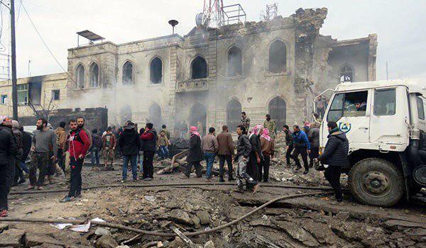 Photo of Four civilians dead as blasts hit Syria's Homs, Damascus