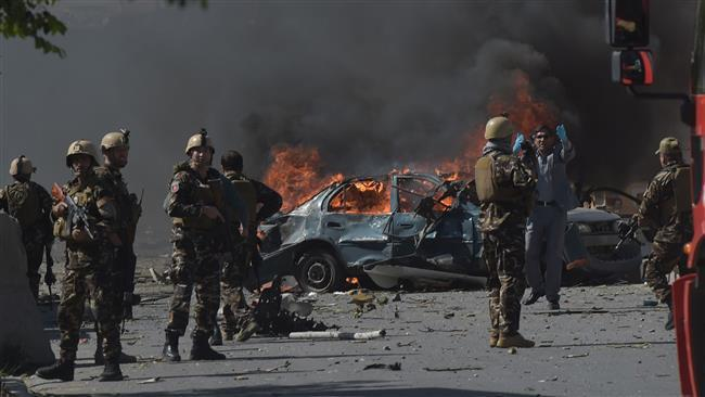 Photo of Truck bomb blast in Afghan capital causes mass casualties