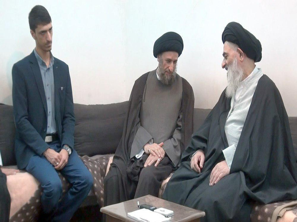 Photo of Religious figures visit Grand Ayatollah Shirazi in holy Qom