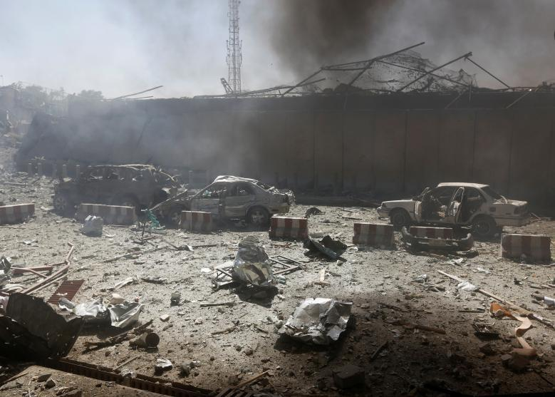 Photo of Afghan president: Kabul truck-bomb toll rises to more than 150 killed