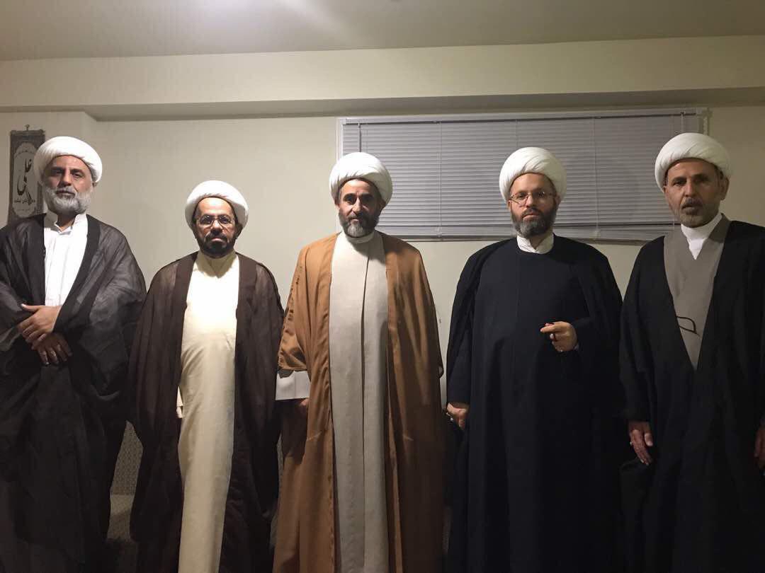 Photo of Grand Ayatollah Shirazi representative visits Windsor