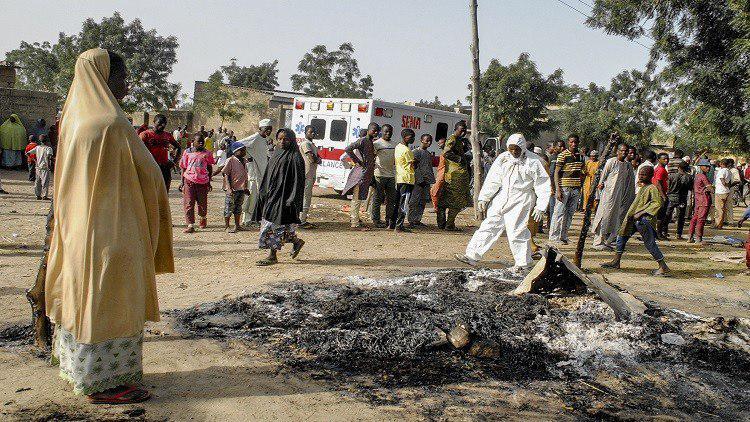 Photo of Police: Suicide bombers kill 12 in Nigeria's Borno state