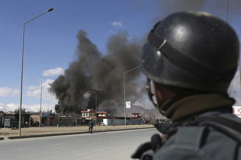 Photo of Coordinated suicide attack on bank in Helmand province