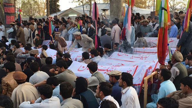 Photo of Protest against Shia killings in Pakistan continues for 7th day