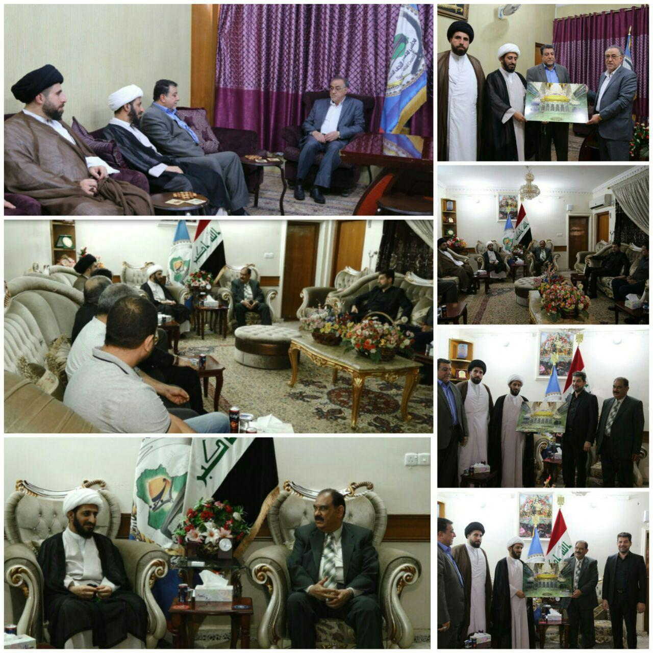 Photo of IHTV delegation visits Holy Najaf Provincial Council