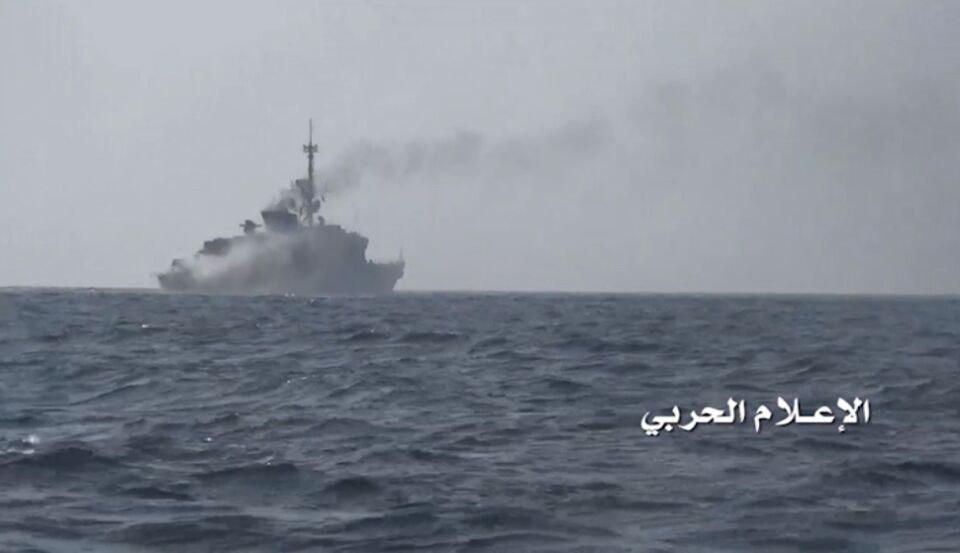 Photo of Yemeni forces sink vessel of Saudi-led coalition off Mukha