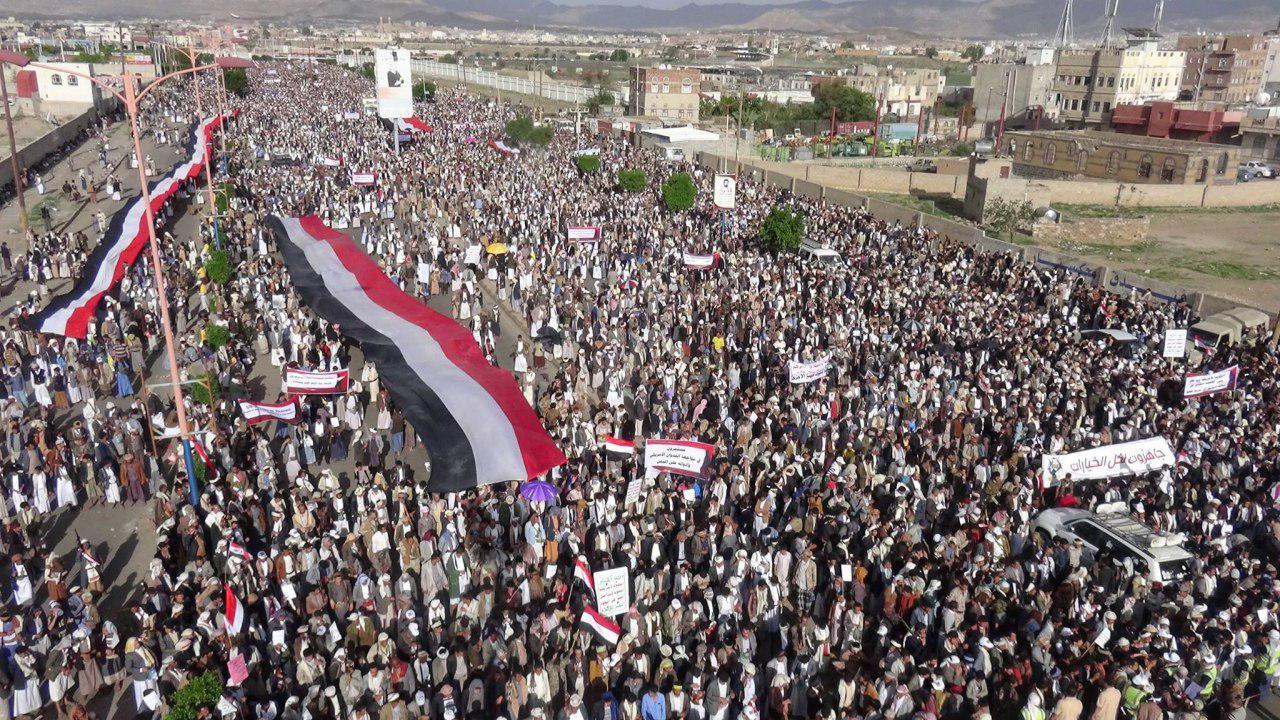 Photo of Yemenis mark anniversary of Saudi airstrike on Sa'ada school