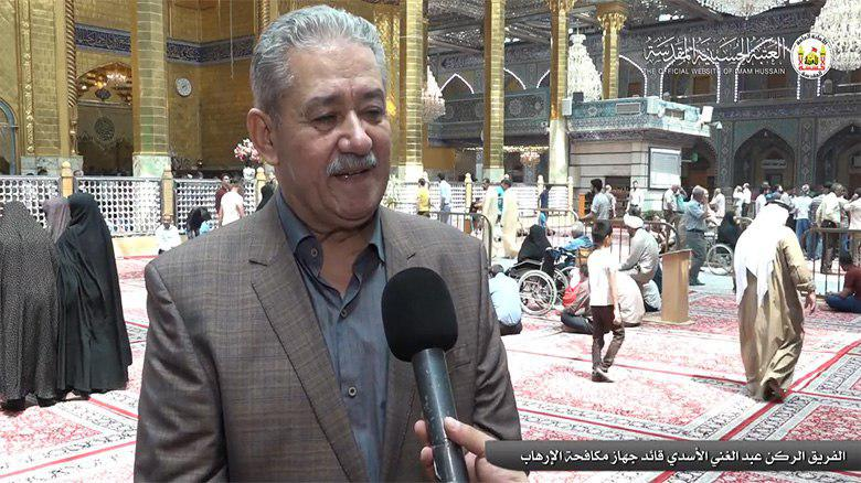 Photo of Commander of Anti-Terrorism Force: Karbala very well protected