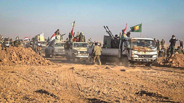 Photo of Popular Mobilization Units advance noticeably in Tal Afar.