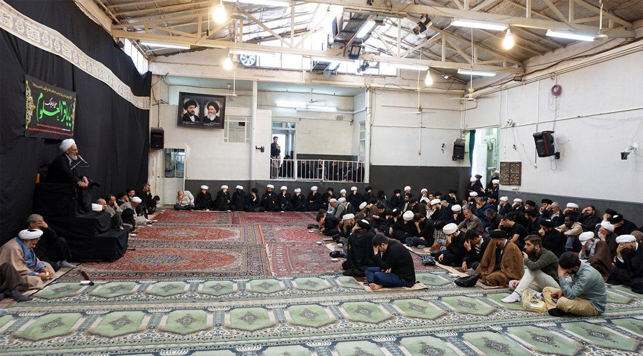 Photo of Reviving the Sorrowful anniversary in the house of the Grand Ayatollah Shirazi