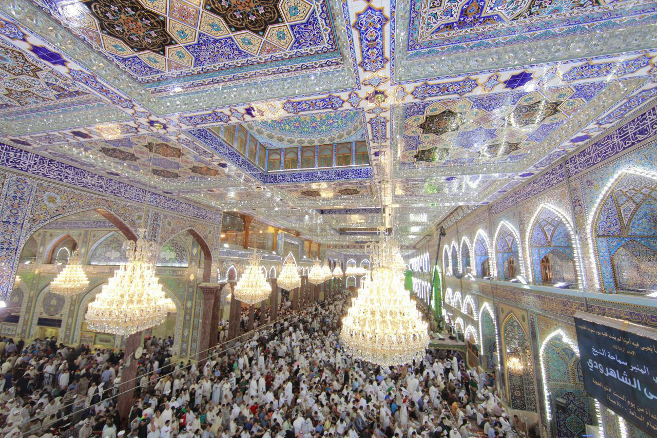 Photo of Millions of Ahl al-Bayt lovers participate in Arafa pilgrimage in the holy city of Karbala