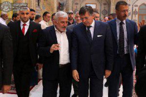Photo of Italian envoy visits Imam Ali holy shrine