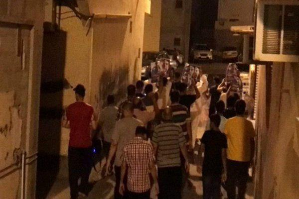 Photo of Bahrainis rally to demand release of political prisoners