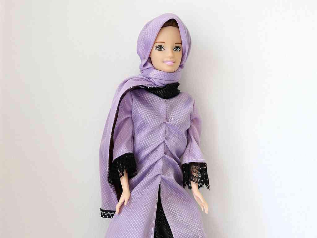 Photo of Doll wears hijab, recites Quran verses