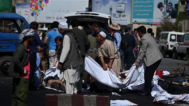 Photo of Suicide bomb near cricket stadium in Kabul kills at least three