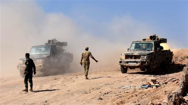 Photo of Syria Army cut Daesh's main supply line in Dayr al-Zawr