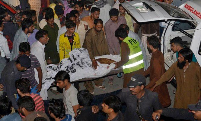Photo of Four people killed in bomb blast in southern Pakistan