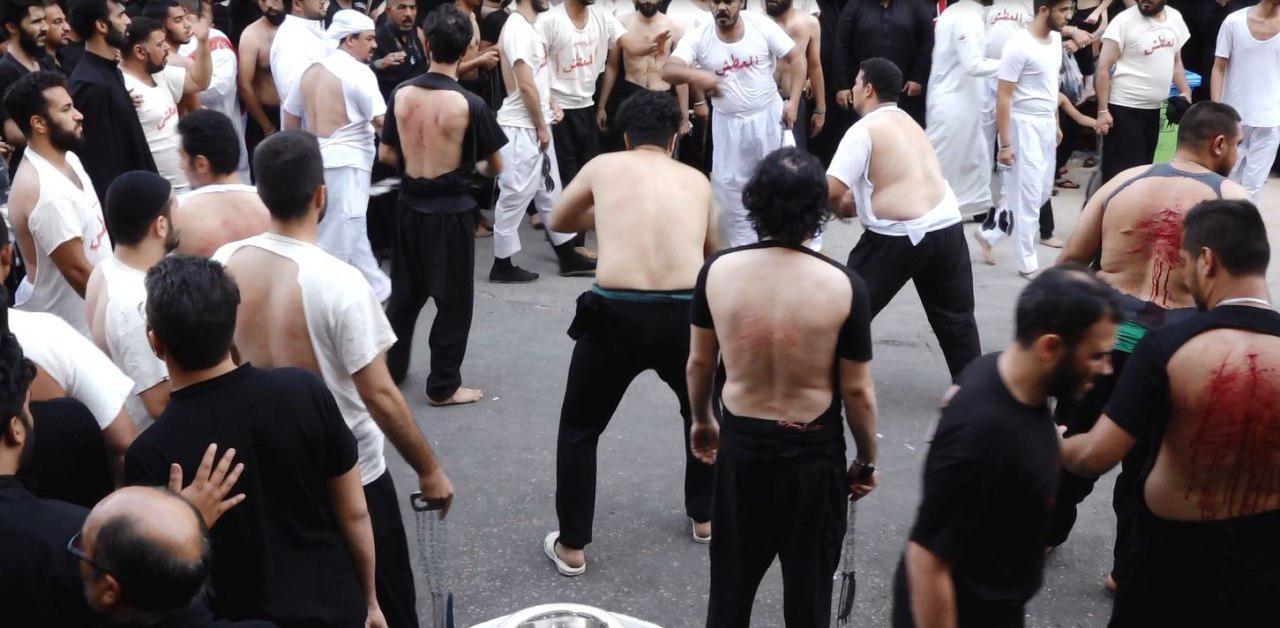 Photo of Thousands of Ahl al-Bayt lovers participate in self-flagellation Husseini processions