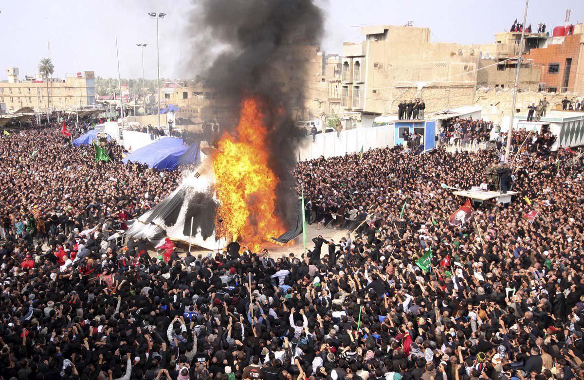 Photo of Millions of pilgrims flocked to Karbala on Ashura amid tight security