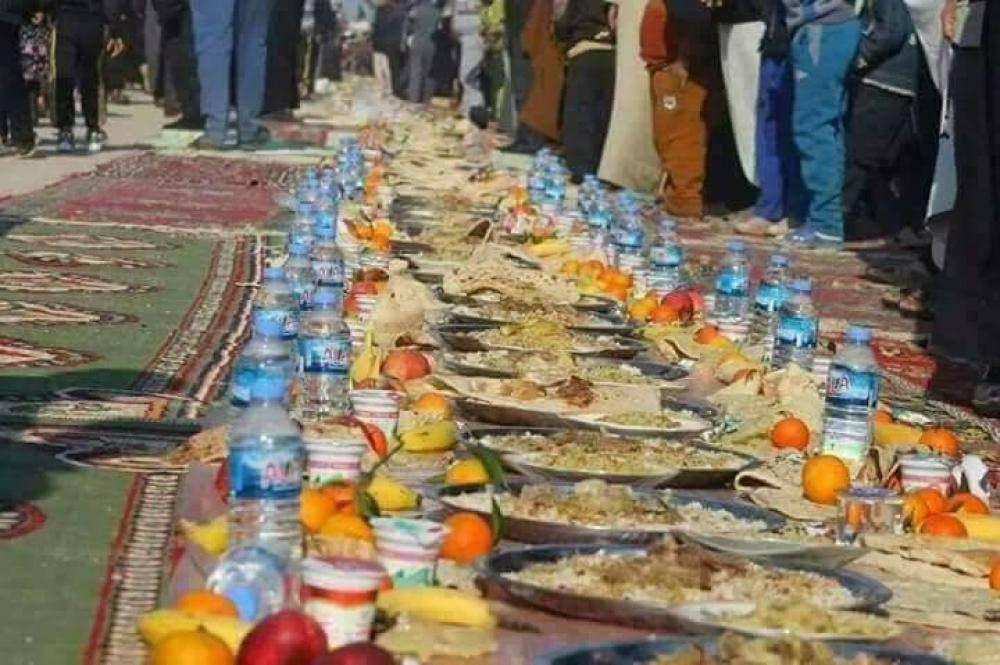 Photo of Photos: The largest feaste in the world on the path of Imam Hussein, peace be upon him.