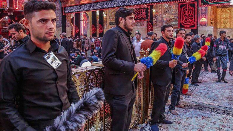 Photo of 6000 volunteers assist Arbaeen pilgrims